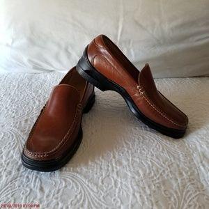Cole Haan Air Shoes Men Moc Toe 071784 Loafer 9M